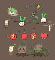 Fakemon Dump by CJsux