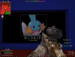 I found a mudkip in COD by RaynorHidalgo