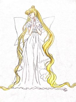 Sailor Moon Scribbles - 2 - by Serenity78