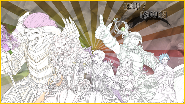 .:Knights of Tyria by ALZP