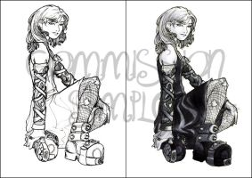TMI - CLARY SKETCH 1 n 2 by far-eviler