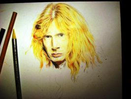 Dave Mustaine. Megadeth WIP by Red-Szajn