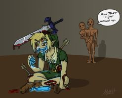 ZOMBIE LINK by Redfred92