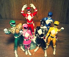 ULTIMATEfiguarts - MMPR pic 6 by ULTIMATEbudokai3