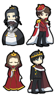 Kings and Queens by pferty