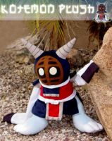 Kotemon Plush by Patchwork-Shark