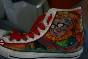 Paprika Converse 1 out of 4 by ArtFaggg