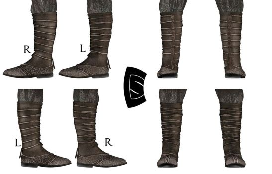 Assassin's Creed Aguilar Boots 2 by Yowan2008