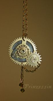 steampunk  necklace by embla-chan
