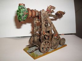 Skaven Plague Claw Catapult by Brother-Maynard