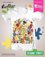 Kawaii Sesame Street Shirt by mAi2x-chan