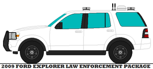 2009 Ford Explorer Law Enforcement Package by mcspyder1