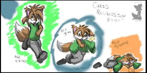 Chris Regression Sketch by BabyChrisFox