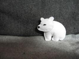 Polar Bear Tiny Plush by KStipetic