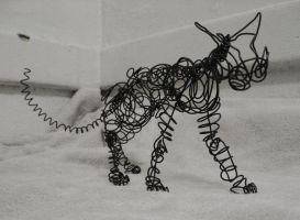 wire cat 1 by clearwater-art