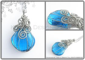 Ocean Seashell by KsenyaDesign