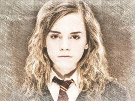 Hermione Granger by SaulBVBsixx