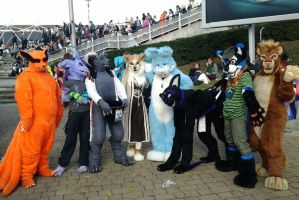 :MCM Oct 11: Fursuit Meetup 1 by TheLupineOne