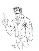 Magnum PI by diecast75
