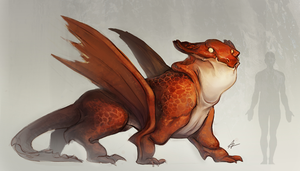 Dragon Concept by soyabeansoldier