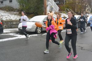 Gobble Gobble Turkey Run,Running With Turkey Leg by Miss-Tbones