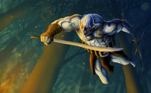 Azog The Defiler by SonnySixkiller