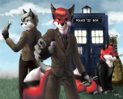 The Three Doctors by Siplick
