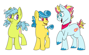 Ponies by FoxTone