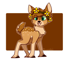Juliet the Fawn by Jhonskii