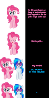 Pinkie and Vinyl Scratch say Goodnight! by Undead-Niklos