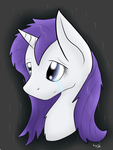 Rarity in the Rain... by CKittyKat98