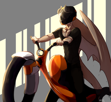 Motorcycle by re-11