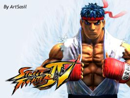 Ryu 3D Render - Sf4 Style by ArtSasil
