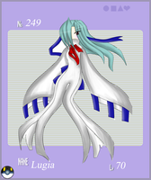 Pokemon Gijinka: Lugia:. by DarkLuzifer