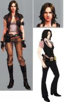 Helena RE6 Extra Costume 4 by Sparrow-Leon
