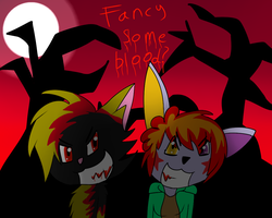 Fancy some blood? by Rexart35