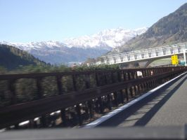 highway to the mountains of austria by lordstormZ