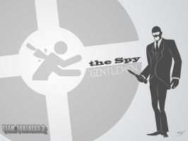TF2 Spy wallpaper by Infiltrator-SF