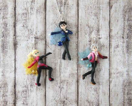 Yuri on Ice Pendant Collection by LittleBreeze