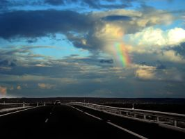 Over  the rainbow by Giampictures