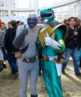 Green Ranger and Putty Patrol by GamerSpax