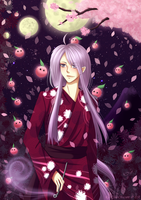 Hanami at Night by RanChu-Obscure