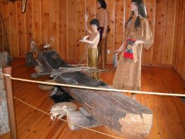 Hand-made Indian Canoe by Rockinangelz99