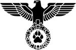 German ww2 Furry symbol by hilliard