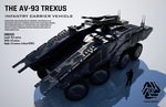 The AV-93 Trexus ICV (FULL HD) by Universe-of-Dusk
