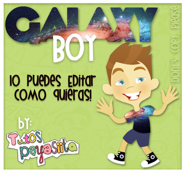 GALAXY-Boy.PSD by Payasiita