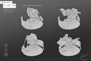 Concept Art VL 201-MX turret by dematics