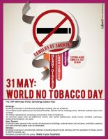 UWI-No Tobacco Day by Dr-JayBone-Designz