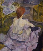 A Henry DeToulouseLautrec Work by mayadb
