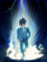 Vegetto - Capsule Corp. President by Balthazar321